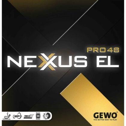 Накладка Andro Nexxus EL Pro 48 max black