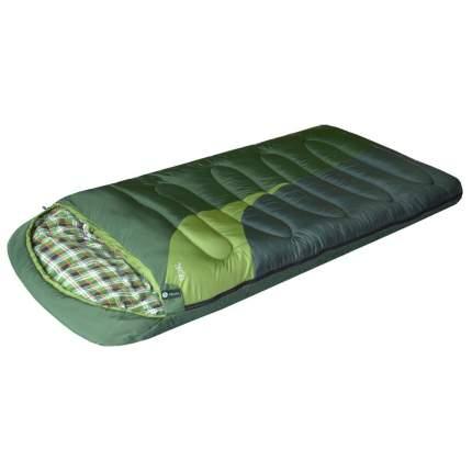 Спальный мешок Prival Берлога 2 зеленый, правый