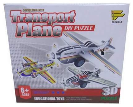 Пазл 3D Самолет, 3 вида в ассортименте