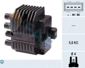 Катушка зажигания FAE 80210