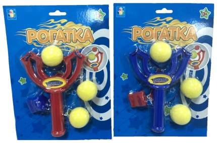 Рогатка 1Toy с тремя шариками т10795