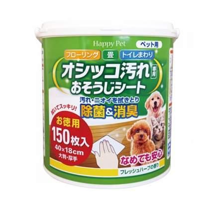 Салфетки Premium Pet Japan для устранения следов туалета и меток животных (150 шт)
