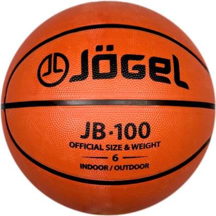 Баскетбольный мяч Jogel JB-100 №6 brown
