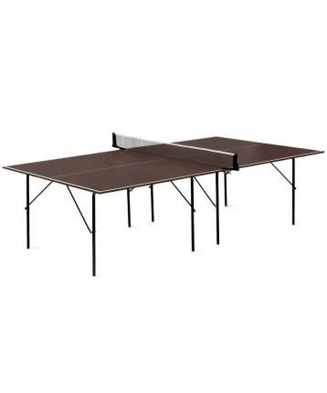 Теннисный стол Start Line Hobby Outdoor коричневый