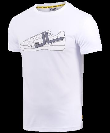 Футболка мужская Jogel JCT-5202-011, белые/белые, XXL INT