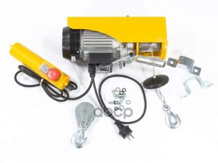Тельфер электрический TF-250, 0,25 т, 540 Вт, высота 12 м, 10 м/мин // DENZEL