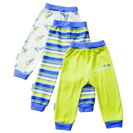 Комплект брюк 3 шт Lucky Child Синий р.74