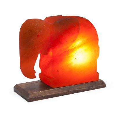 Соляная лампа Слон