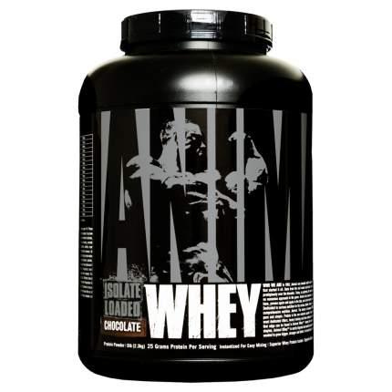 Протеин Universal Nutrition Animal Whey Isolate Loaded 2275 г Chocolate