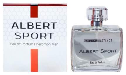 Мужская парфюмерная вода с феромонами Парфюм престиж Natural Instinct Albert Sport 100 мл