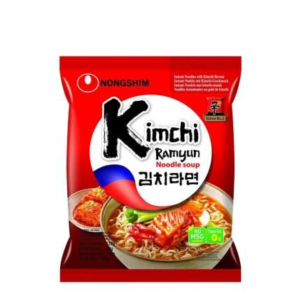 Лапша быстрого приготовления Кимчи Рамен Nongshim 120 г