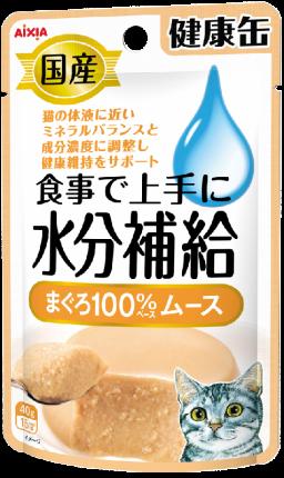 Влажный корм для кошек AIXIA Kenko-Can, аппетитная паста из тунца 40г