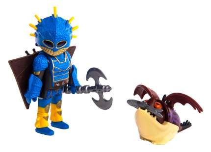 Игровой набор Playmobil Драконы III Астрид в летном костюме с Объедалой