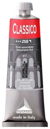 Масляная краска Maimeri Classico красный квинакридон 60 мл