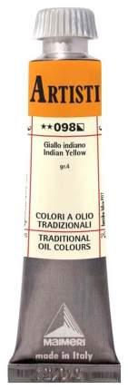 Масляная краска Maimeri Artisti M0102098 индийский желтый 20 мл