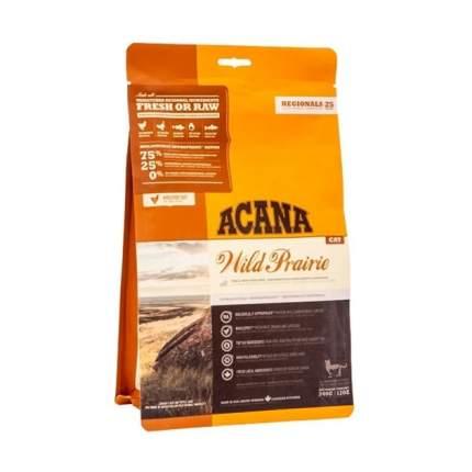 Сухой корм для кошек ACANA Regionals Wild Prairie, индейка, цыпленок, рыба, 0,34кг