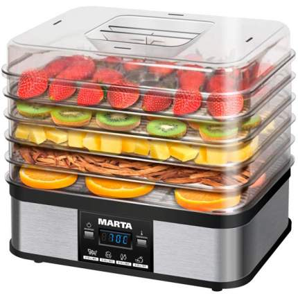 Сушилка для овощей и фруктов Marta MT-1952 Bl/Pe