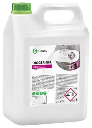 Гель для чистки труб Grass digger-gel  канистра 5.3 кг
