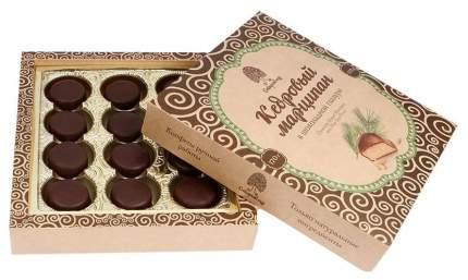 Конфеты Сибирский Кедр марципан кедровый в шоколадной глазури 170 г