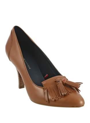 Туфли женские Tommy Hilfiger коричневые 40 RU