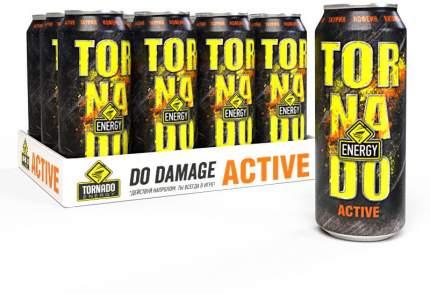 Энергетический напиток  Tornado Energy Activ 12 шт по 450 мл