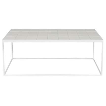 Кофейный столик Zuiver 35х93х42 см, белый