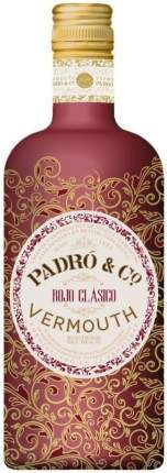 Вермут Padro & Co Rojo Clasico