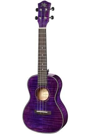 Укулеле концертная, цвет Фиолетовый, чехол в комплекте Martin Romas Mr-22pl
