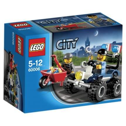 Конструктор LEGO City Police Полицейский квадроцикл (60006)