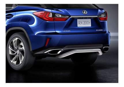 Защита заднего бампера RIVAL для Lexus (R.3211.009)