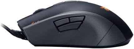 Проводная мышка ASUS Strix Claw Dark Black (90YH00C2-BAUA00)