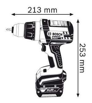 Аккумуляторная дрель-шуруповерт Bosch GSR 14,4 ve-2-Li 4.0Ач 06019D9000