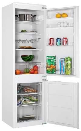 Встраиваемый холодильник Korting KSI 17850 CF White