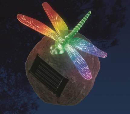 Светильник на солнечных батареях Uniel USL-S-117/RT090 Dragonfly on Rock 10 см