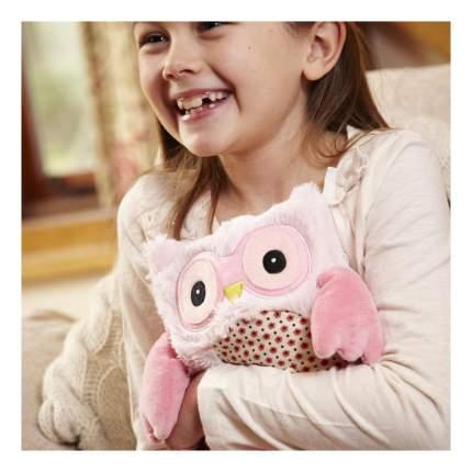 Мягкая игрушка-грелка Warmies Совенок розовый