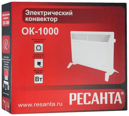 Конвектор Ресанта ОК-1000 67/4/1 Белый