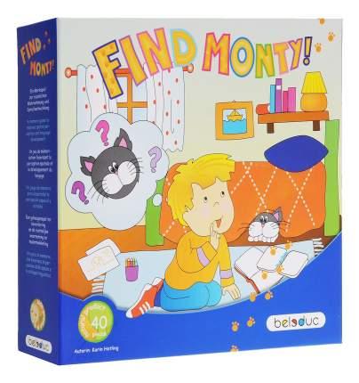 Семейная настольная игра Beleduc Найди кота Монти!
