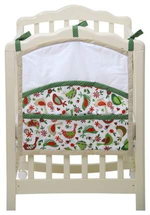 Текстильная карман в детскую кроватку Polini Кантри 0001417.13.3