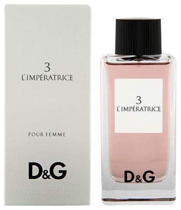 Туалетная вода Dolce&Gabbana 3 L'imperatrice 50 мл