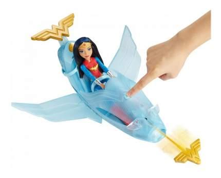 Фигурка персонажа DC Super Hero Girls Toys Чудо-женщина с транспортным средством