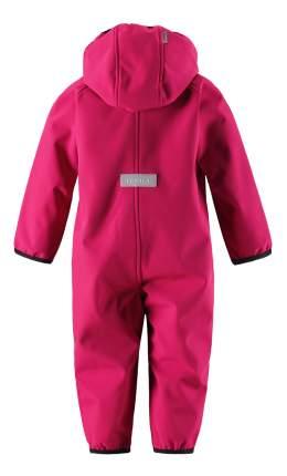 Комбинезон детский Reima Softshell overall Avulias розовый флисовый р.74