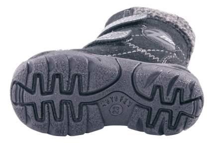 Ботинки Котофей зимние на липучках черные