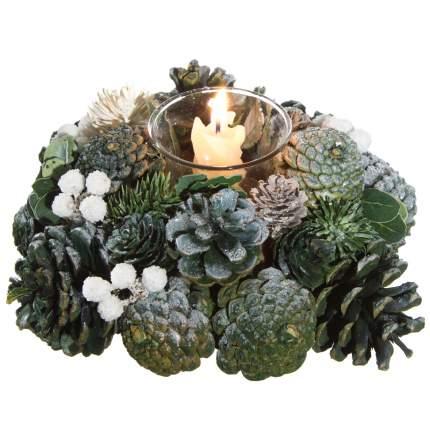 Kaemingk Подсвечник из шишек Лесной Огонек 19*10 см 726055
