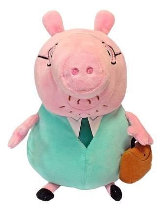 Мягкая игрушка Intertoy Peppa Pig Папа Свин с Кейсом 30 см 30292