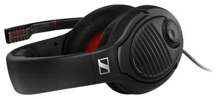 Игровые наушники Sennheiser PC 373D Black/Red