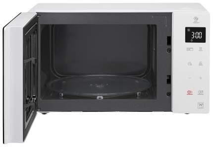 Микроволновая печь с грилем LG MH6336GISW white/black