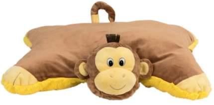 Подушка-игрушка Вывернушка 1Toy 2 в 1, Лев-Обезьянка Т12042