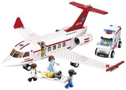 Конструктор Sluban Авиация: Самолет скорой помощи 335 деталей M38-B0370