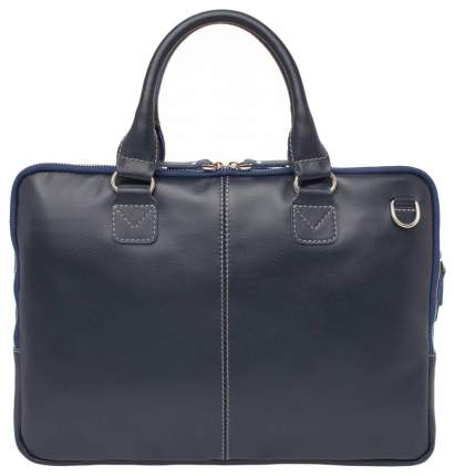 Портфель мужской кожаный Lakestone Cromwell синий
