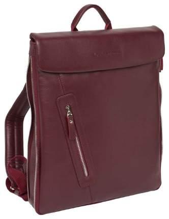 Рюкзак кожаный Lakestone Ramsey красный 5 л